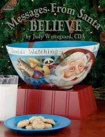 Revista de Pintura Country Message From Santa  Believe