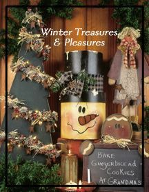 Revista de Pintura Country Winter Treasures & Pleasures