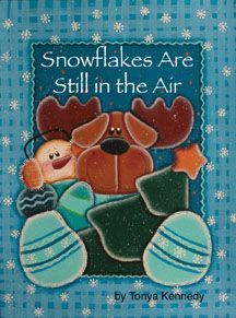 Revista de Pintura Country Snowflakes Are Still in the Air