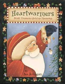 Revista de Pintura Country Holiday Pleasures Heartwarmers Small Treasures