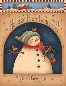 Revista de Pintura Country Holiday Heartwarmers Vol. 11