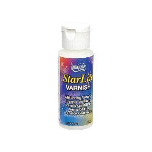 Verniz com Glitter Star Lite Varnish