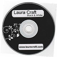 CD Laura Craft Black & White