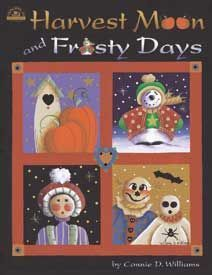 Revista de Pintura Country Harvest Moon & Frosty Days