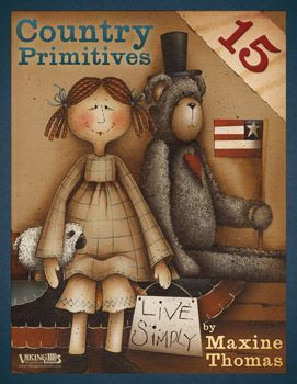 Revista de Pintura Country Primitives 15